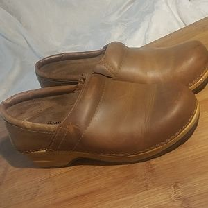 LL Bean Leather Mules